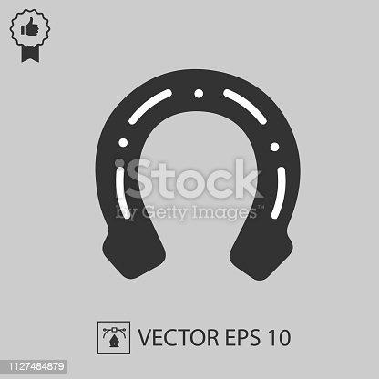 Horseshoe vector icon eps 10.