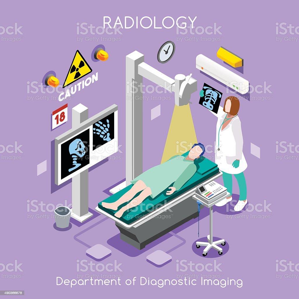 Hospital 02 People Isometric vector art illustration