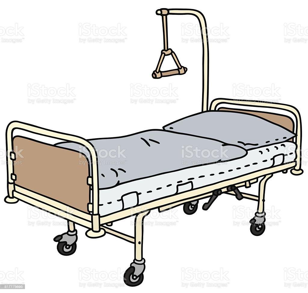 krankenhausbett stock vektor und mehr bilder bett