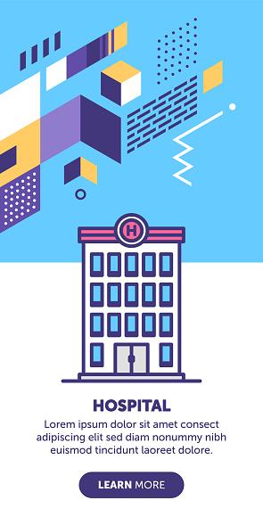 Hospital Building Banner