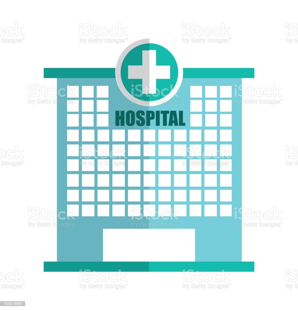 Hospital Design Stock Vector Art & More Images of