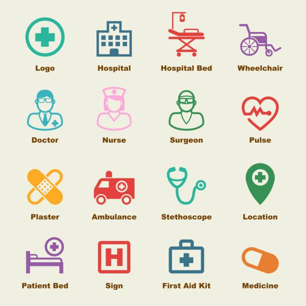 病院の要素 - 救急救命士点のイラスト素材/クリップアート素材/マンガ素材/アイコン素材