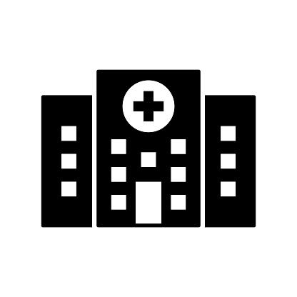 Hospital Icon Design Vector Illustration Template