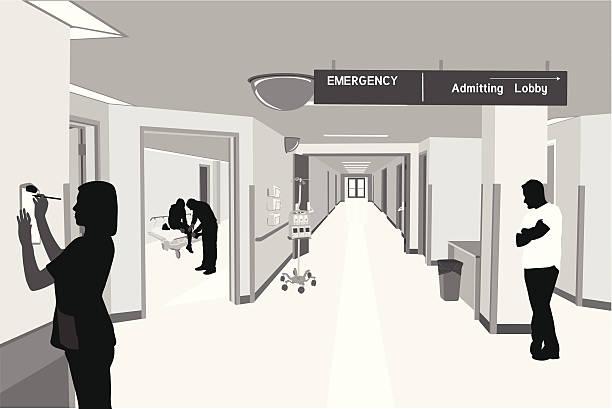 bildbanksillustrationer, clip art samt tecknat material och ikoner med hospital lives - sjukhusavdelning