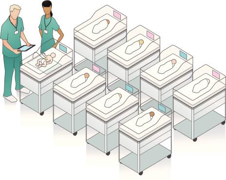 Hospital Nursery Illustration