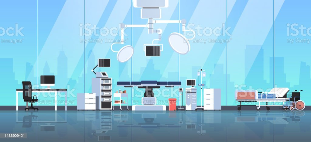 Hospital Table Room Modern Medical Operating Surgery Clean 8Okn0Pw