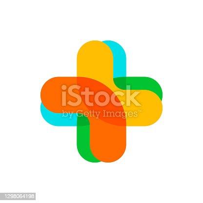 istock Hospital or Medicine logo 1298064198