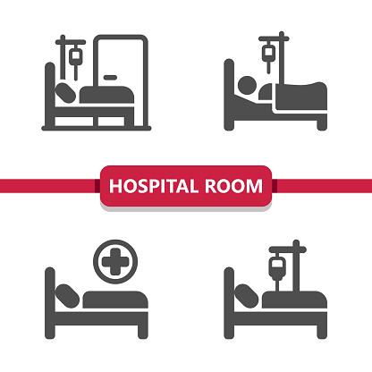 Hospital Room Icons