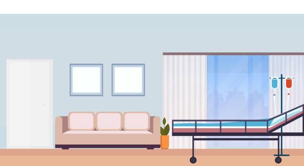 Best Cartoon Of Empty Hospital Bed Illustrations, Royalty ...