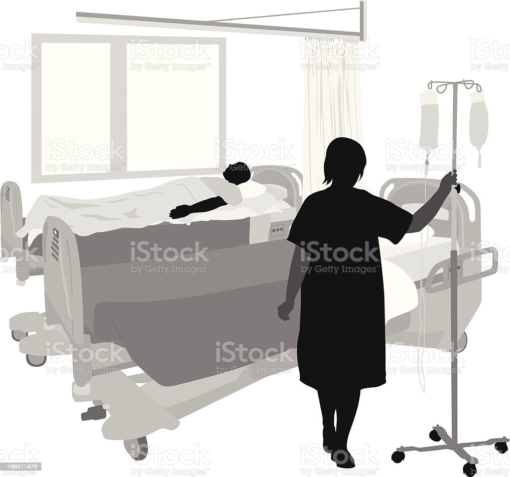 Hospital Room royalty-free hospital room stock vector art & more images of illustration