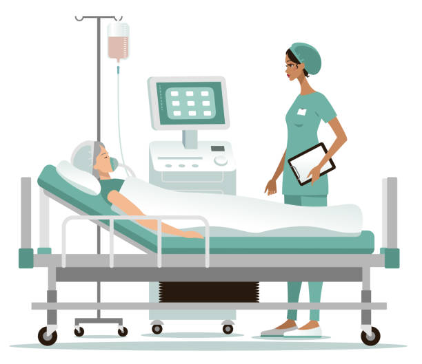 bildbanksillustrationer, clip art samt tecknat material och ikoner med sjukhus - sjukhusavdelning