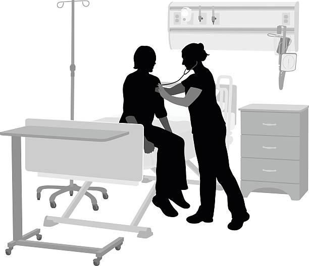 bildbanksillustrationer, clip art samt tecknat material och ikoner med hospital ward - sjukhusavdelning