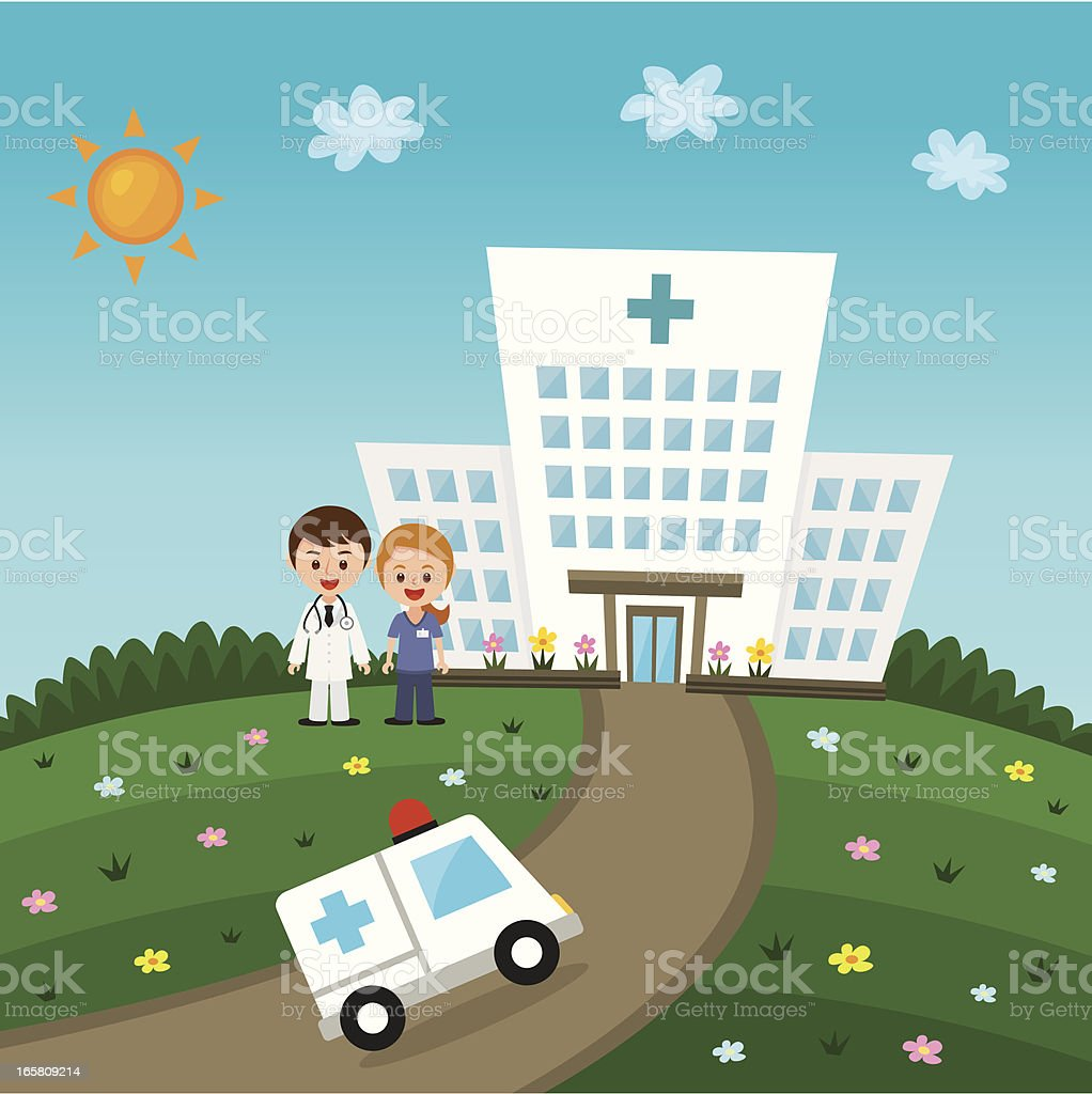 hospital with doctors