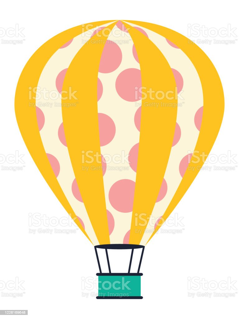 Hot Air Balloon Illustration Stock Illustration Download Image Now Istock