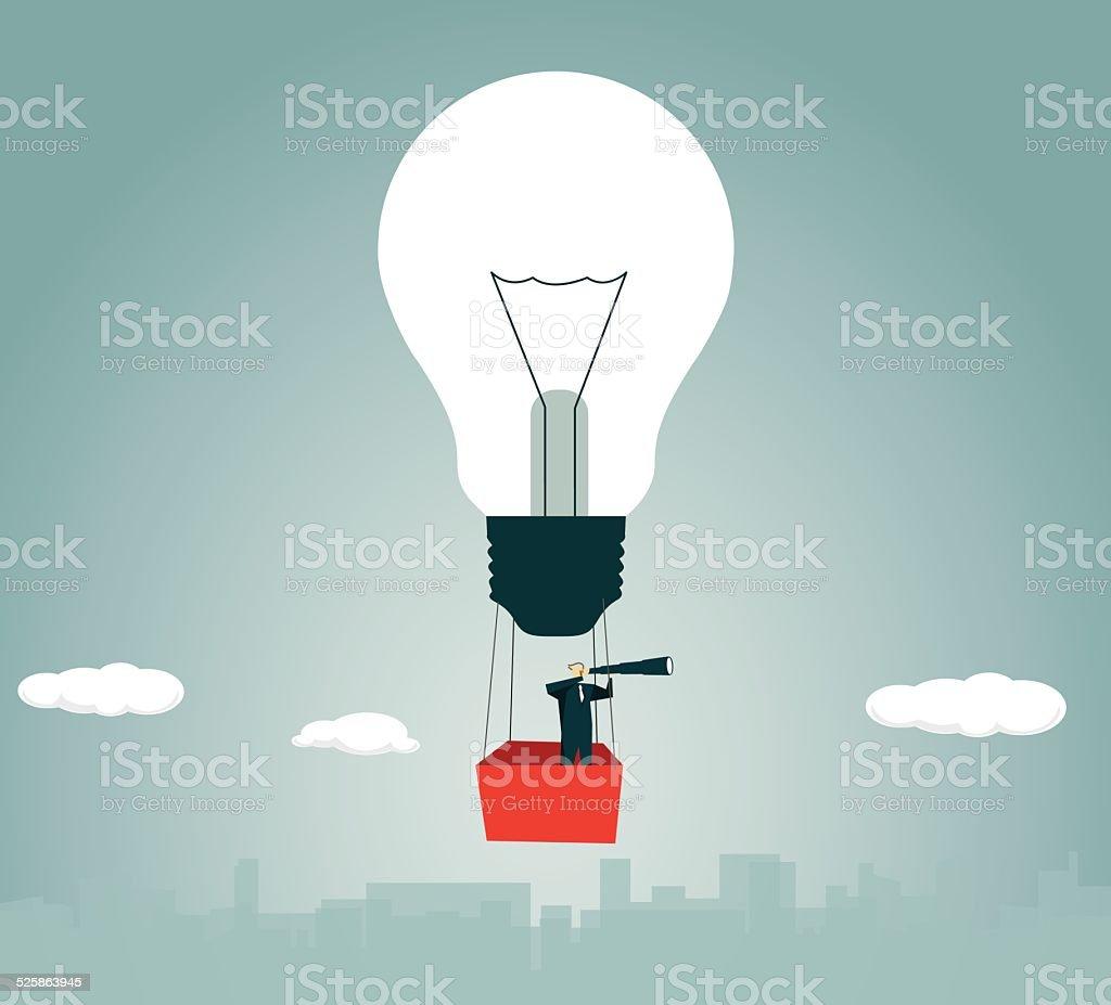 Heißluftballon Strategie Lösung Glühbirne Lampe Fliegen Abenteuer ...