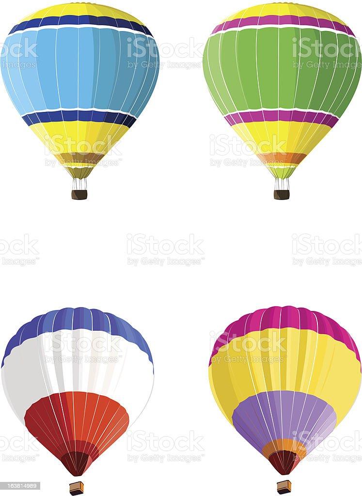 Hot Air Balloon royalty-free hot air balloon stock vector art & more images of flying