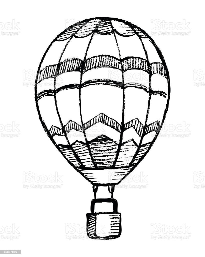 Globo Aerostatico Dibujo