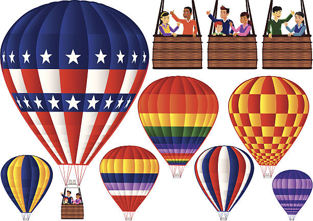 Top 60 Hot Air Balloon Basket Clip Art Vector Graphics And