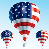 USA hot balloons