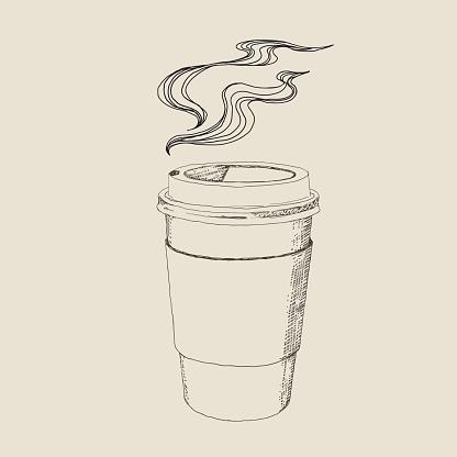 Hot Caffee Drawing