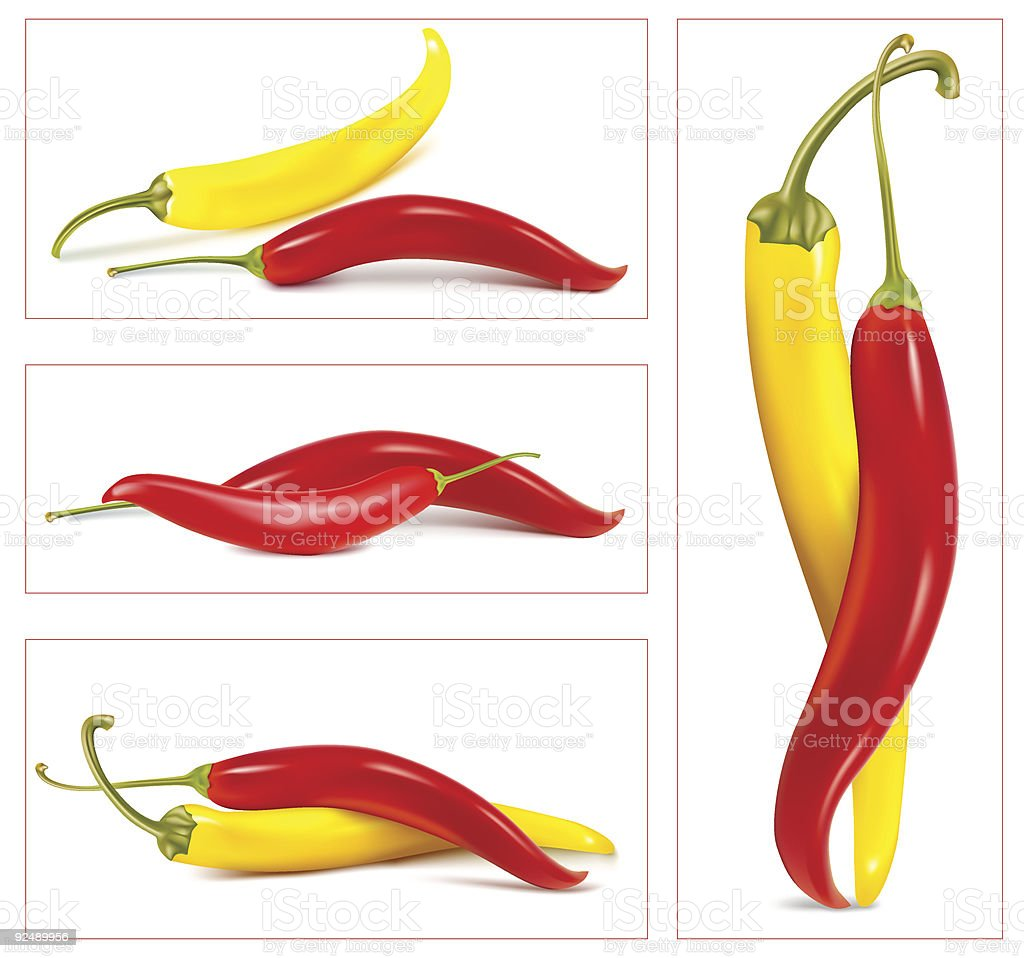 Hot chili peppers. royalty-free hot chili peppers stock vector art & more images of cayenne pepper