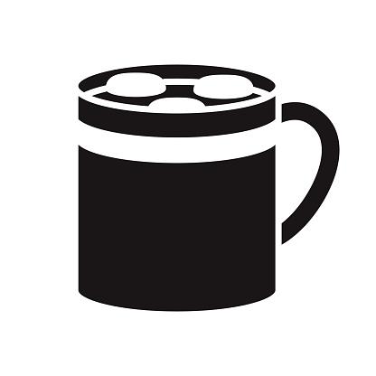 Hot Chocolate Glyph Icon