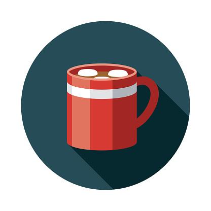 Hot Chocolate Holiday Food Icon