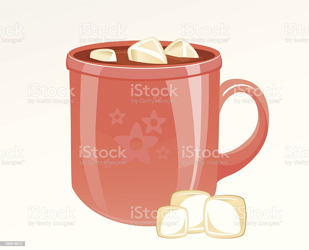 royalty free hot chocolate marshmallow clip art vector images rh istockphoto com hot cocoa clip art free hot cocoa clipart black and white