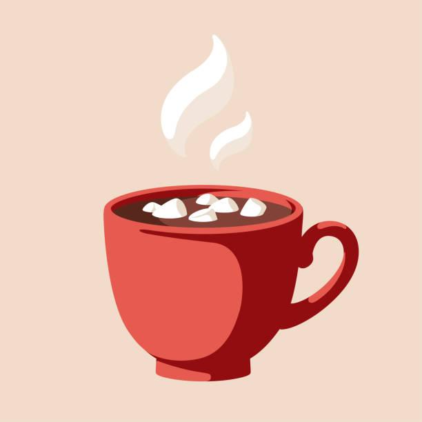 ilustrações de stock, clip art, desenhos animados e ícones de hot chocolate - chá bebida quente