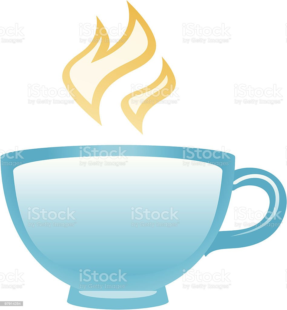 Hot cup royalty-free hot cup stock vector art & more images of cafe