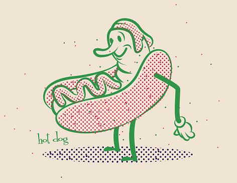 Hot Dog Comic
