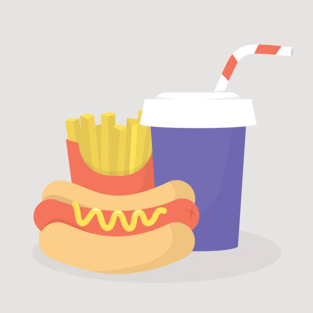 Best Junk Food Illustrations, Royalty-Free Vector Graphics
