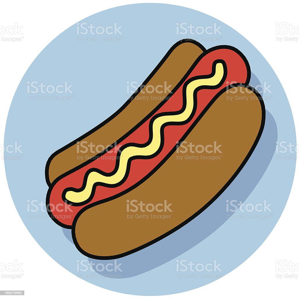 hot dog icon royalty-free hot dog icon stock vector art & more images of eating