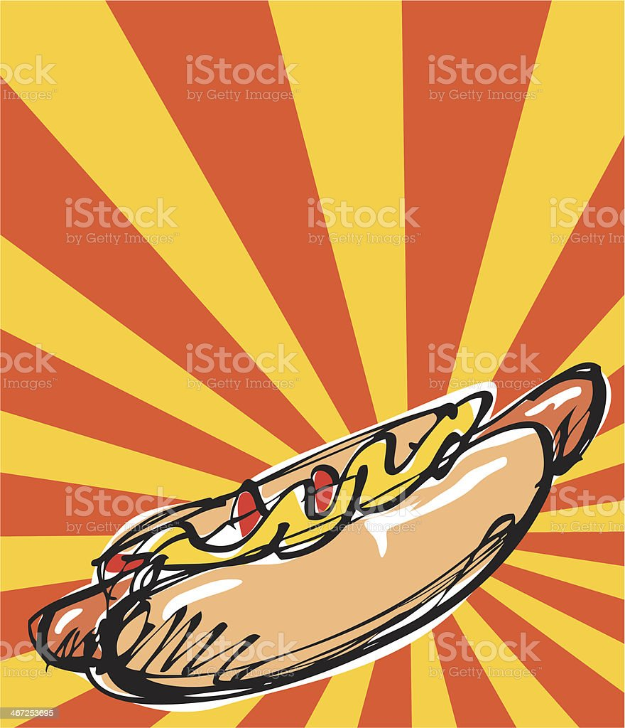 Hot dog royalty-free hot dog stock vector art & more images of american culture