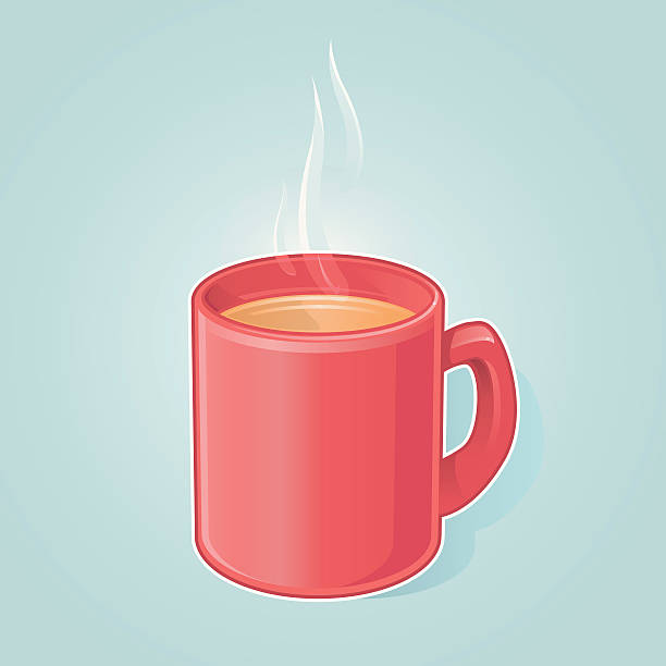 Best Red Mug Illustrations, Royalty-Free Vector Graphics ...
