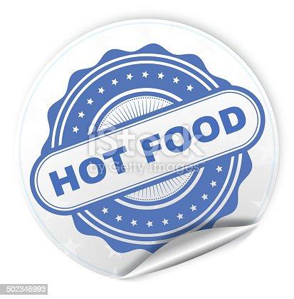 Hot Foof Sticker