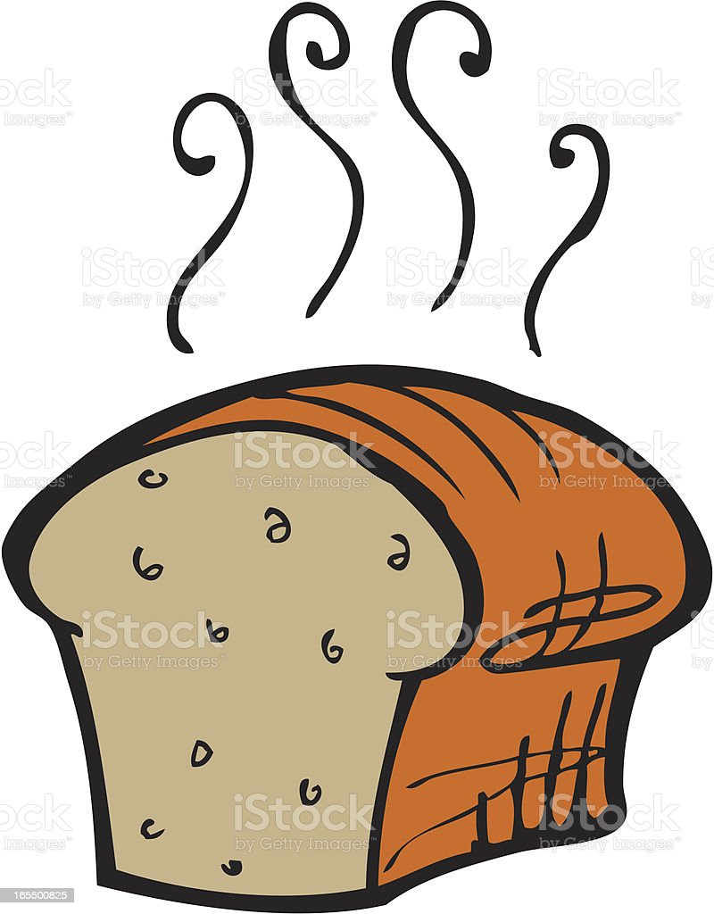 hot loaf of bread stock vector art more images of bakery 165500825 rh istockphoto com loaves of bread clipart loaf of bread free clipart