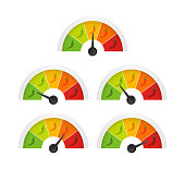 istock Hot red pepper strength scale indicator with mild, medium, hot and hell positions. Vector illustration. 1178580667