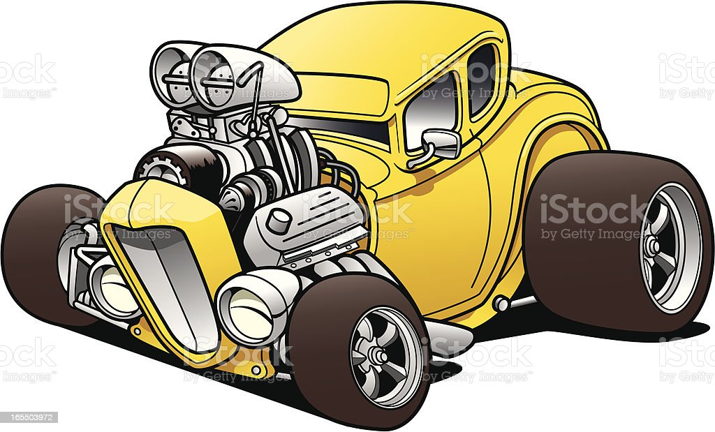 Hot Rod Coupe royalty-free hot rod coupe stock vector art & more images of car