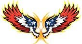 Hot Rod Wings, American Flag