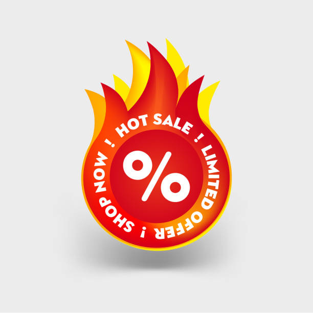 Hot Sale label. Limited Special Offer Icon. Mega Summer Sale Promotion Sticker. Discount Hot Price Fire Red Tag. Vector illustration Special Promotion Badge. Hot Sale label. Limited Special Offer Icon. Mega Summer Sale Promotion Sticker. Discount Hot Price Fire Red Tag. Vector illustration Special Promotion Badge. dealing cards stock illustrations