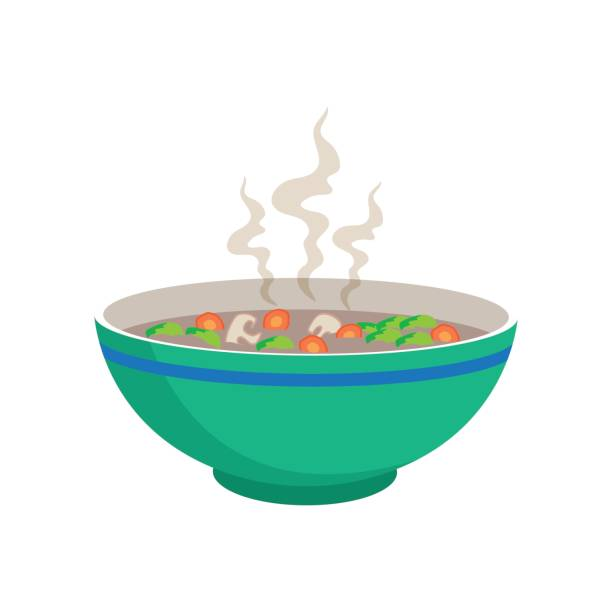 Best Vegetable Soup Illustrations, Royalty-Free Vector ...