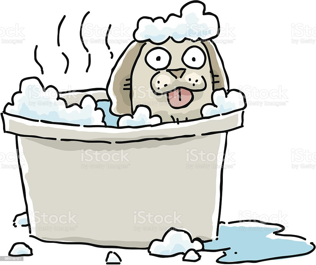 Hot Suds royalty-free stock vector art