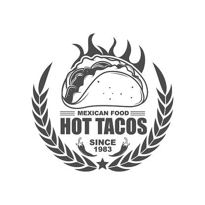 Hot Tacos Logo Design