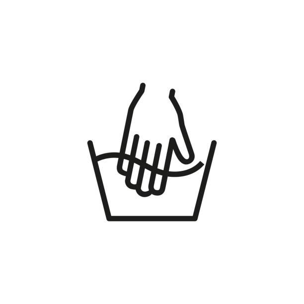 heißes symbol für die warmwasserlinie - weichspüler stock-grafiken, -clipart, -cartoons und -symbole