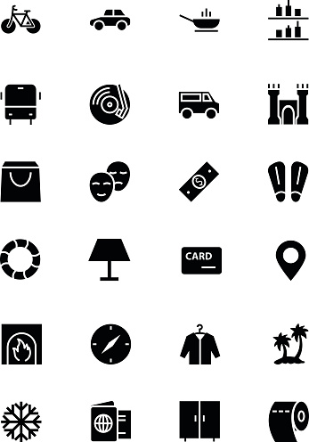 Hotel and Restaurant Vector Icons 5