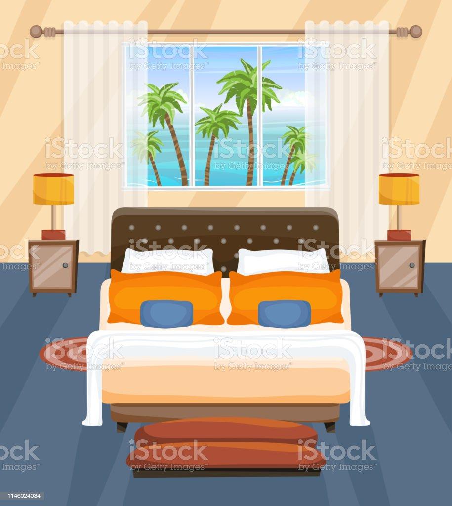 Lit Exterieur Design hôtel chambre design intérieur plat paysage tropical À