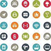 Hotel icons / Ringico series