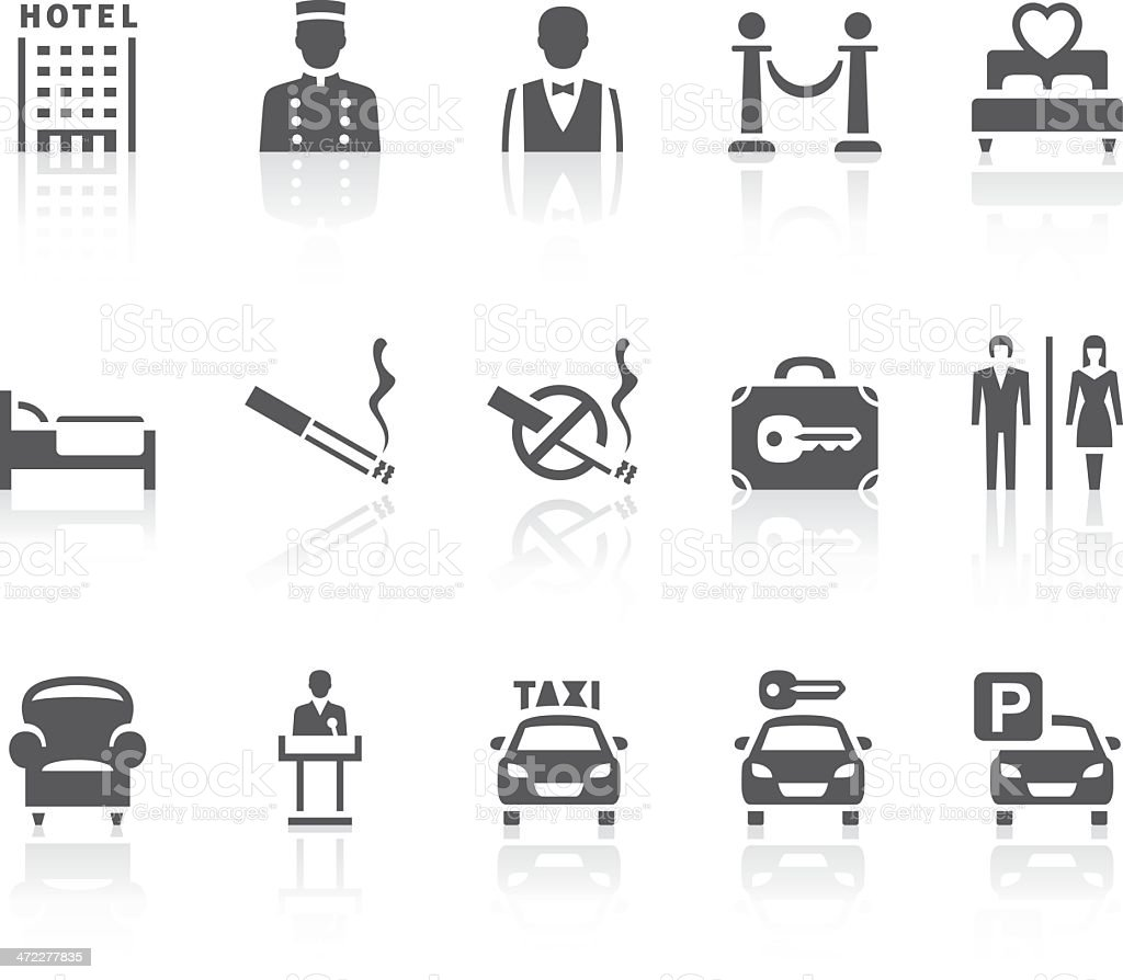 Hotel icons royalty-free hotel icons stock vector art & more images of adult