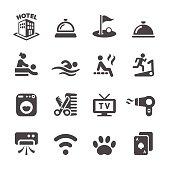 hotel service icon set 4, vector eps10